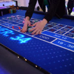Animated gaming table