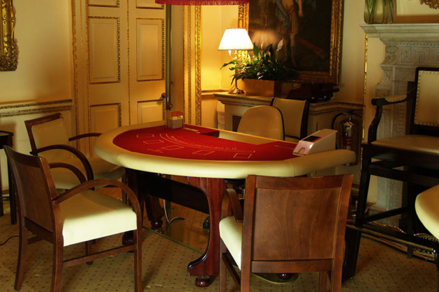 Luxury Blackjack table