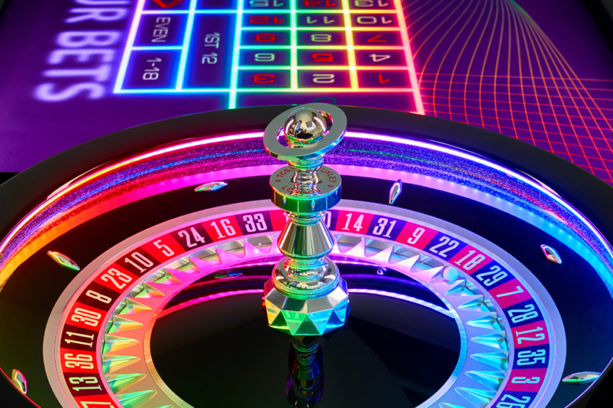 Roulette wheel and Blaze Roulette
