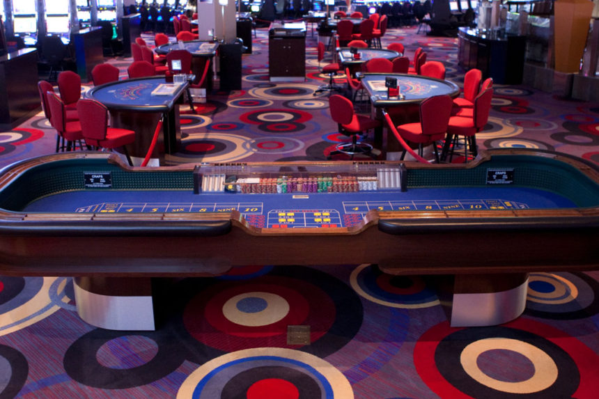 Large Craps Table