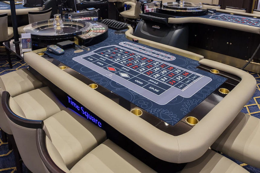 Stunning Roulette gaming tables from John Huxley