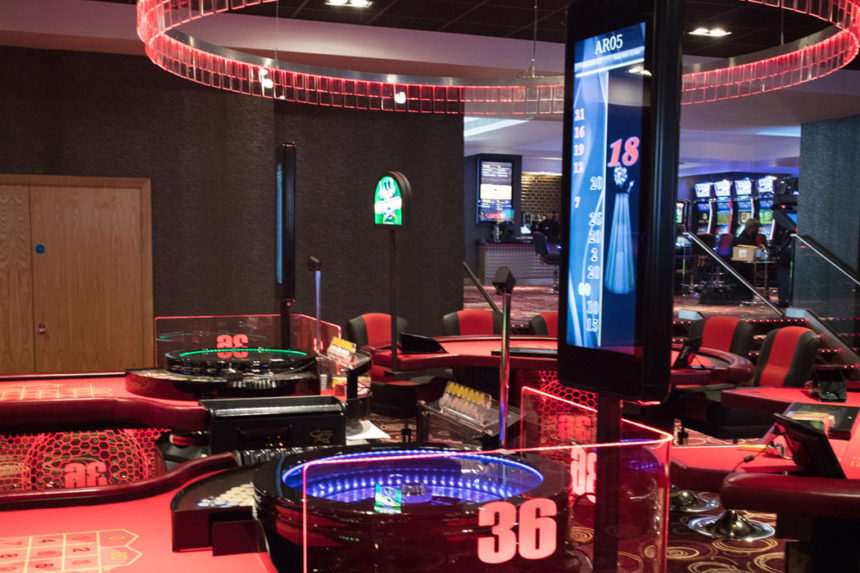 Casino 36 displays