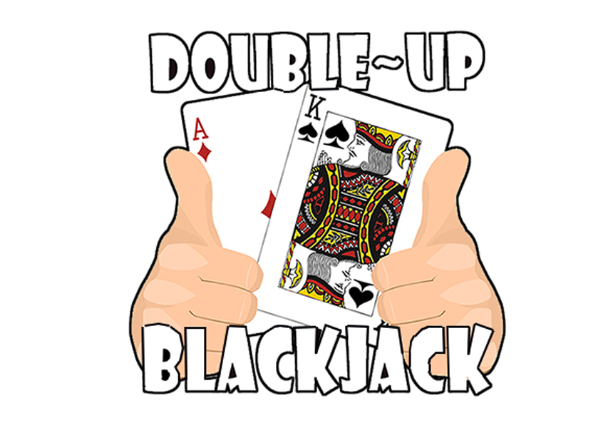What does double up in blackjack mean