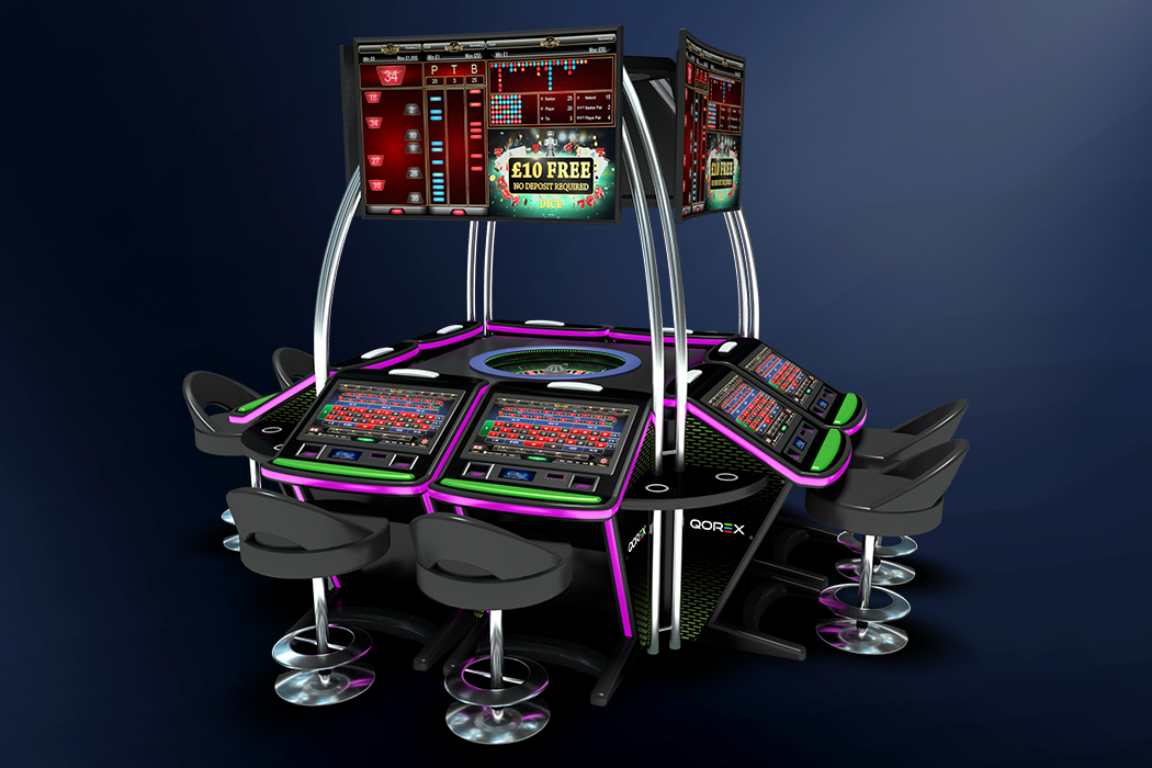 Qorex Carousel with screens