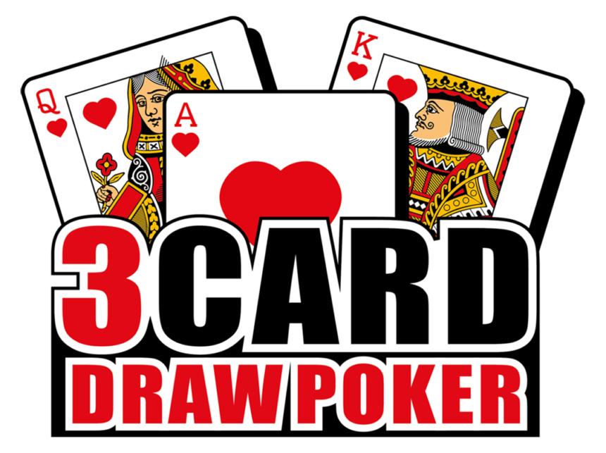 3 Card Draw Logo