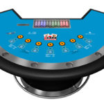 3 Card Draw Poker table