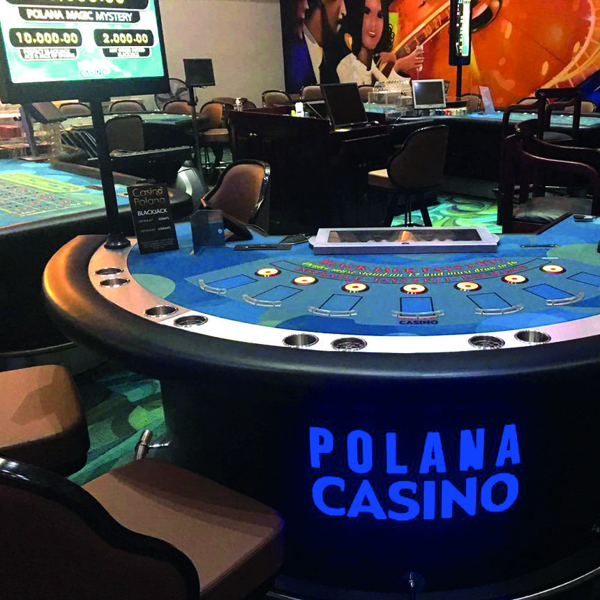 Polana Casino Blackjack table