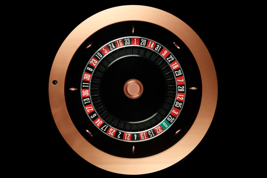 Automatic Roulette Wheel
