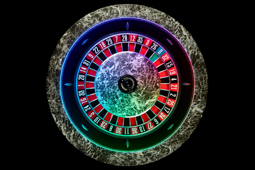 Custom Roulette wheel from TCSJOHNHUXLEY