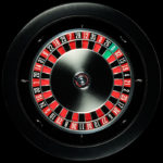 Matt Black Roulette Wheel