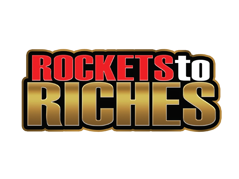 Rockets To Riches logo