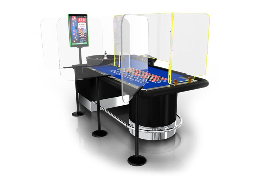 Protection Screens for Roulette Table